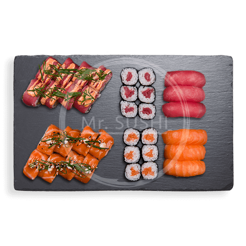 Foto Salmon tuna deluxe box