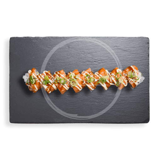 Foto Soft Shell Salmon Roll 8 st.